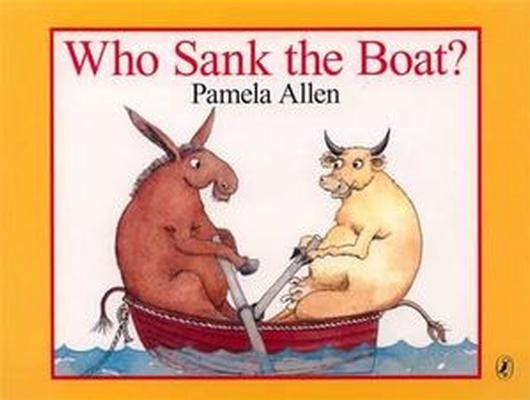 Who Sank The Boat? book