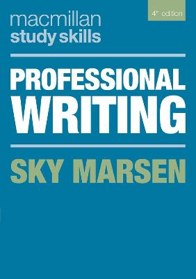 Professional Writing by Sky Marsen