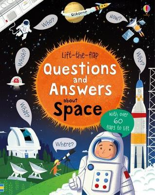 Lift-The-Flap Questions and Answers About Space book