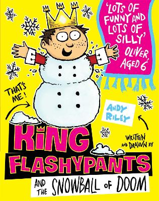 King Flashypants and the Snowball of Doom: Book 5 book