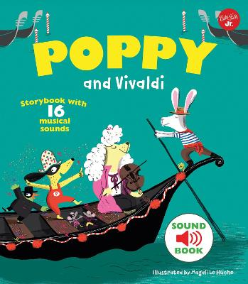 Poppy and Vivaldi by Magali Le Huche