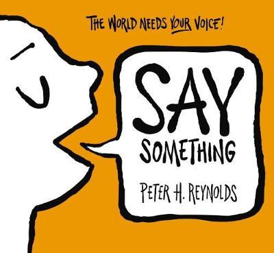Say Something book