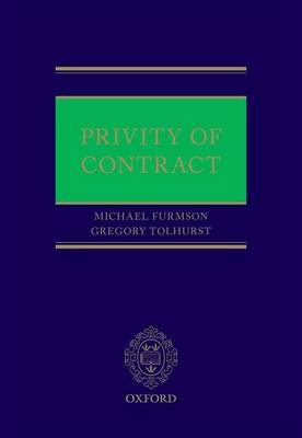 Privity of Contract by Michael Furmston