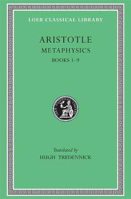 Metaphysics  Bks.1-9 by Aristotle