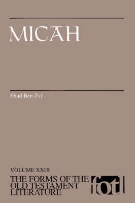 Micah F.O.T.L. by Ehud Ben Zvi