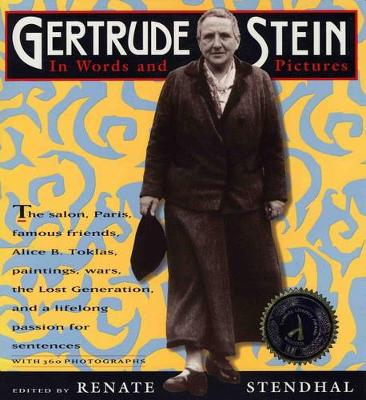 Gertrude Stein by Renate Stendhal