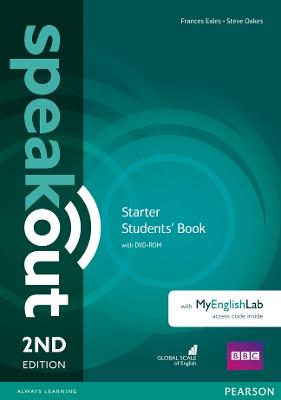 Speakout Starter 2nd Edition Students' Book with DVD-ROM and MyEnglishLab Access Code Pack by Frances Eales