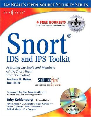 Snort Intrusion Detection and Prevention Toolkit by Brian Caswell