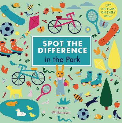 Spot the Difference: In the Park by Naomi Wilkinson