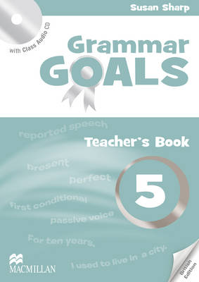 Grammar Goals Level 5 Teacher's Book Pack book