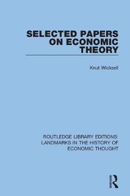 Selected Papers on Economic Theory book