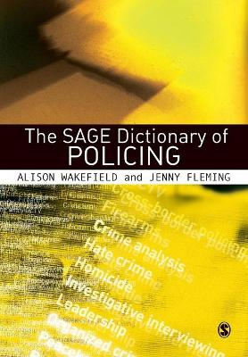 SAGE Dictionary of Policing book