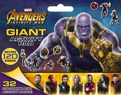 Marvel Avengers Infinity War: Giant Activity Pad book