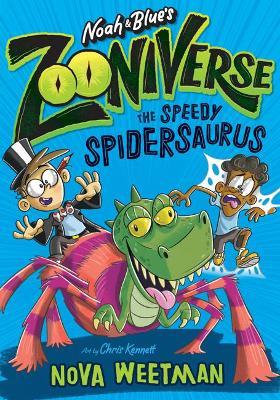 The Speedy Spidersaurus book