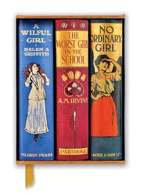 Bodleian Libraries: Book Spines Great Girls (Foiled Journal) by Flame Tree Studio