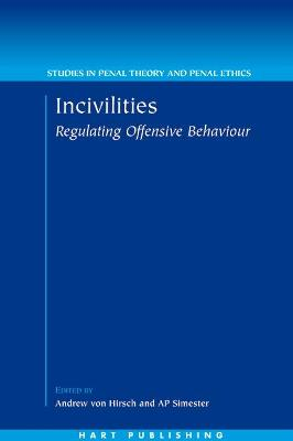 Incivilities by Andrew Simester