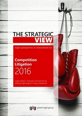 The Strategic View - Competition Litigation by Euan Burrows
