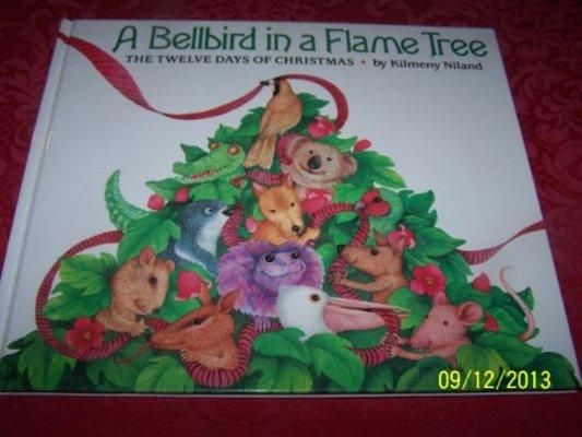 Bellbird in a Flame Tree by Kilmeny Niland