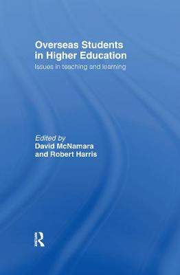 Overseas Students in Higher Education book