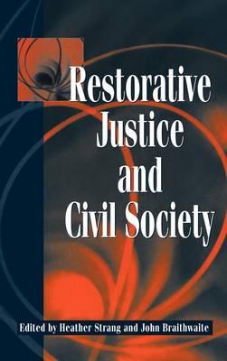 Restorative Justice and Civil Society book