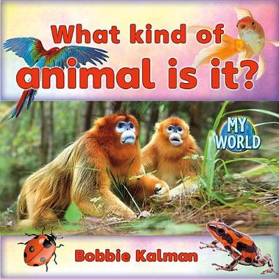 What Kind of Animal Is It? by Bobbie Kalman