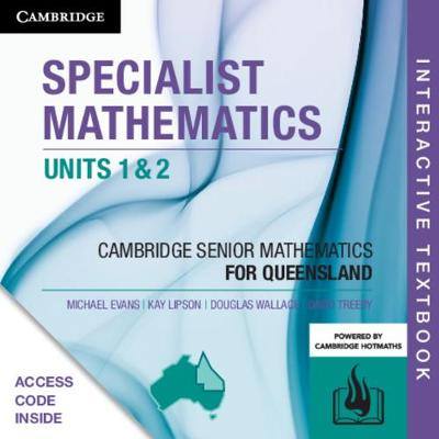 CSM QLD Specialist Mathematics Units 1 and 2 Digital (Card) by Michael Evans
