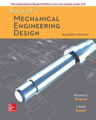 ISE Shigley's Mechanical Engineering Design book
