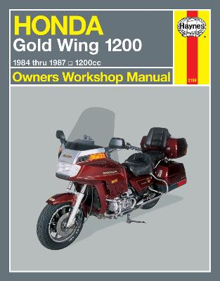 Honda Gold Wing 1200 (1984-87) Owners Workshop Manual book