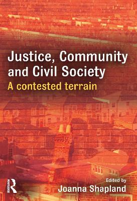 Justice, Community and Civil Society book