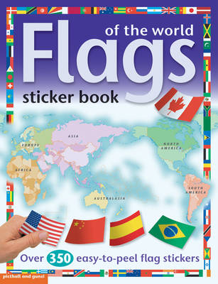 Flags of the World Sticker Book by Chez Picthall