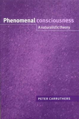 Phenomenal Consciousness book