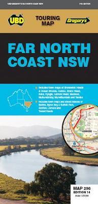 Far North Coast NSW Map 296 14th ed by UBD Gregory's