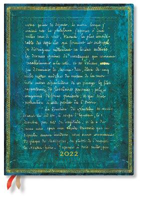 2022 Verne 20,000 Leagues, Ultra, (Day at a Time) Flexi Diary: Softcover, 80 gsm, Day to a Page Layout (except Sat/Sun), no closure book