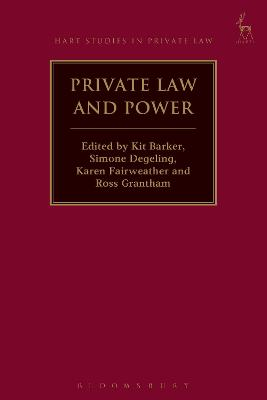 Private Law and Power by Kit Barker