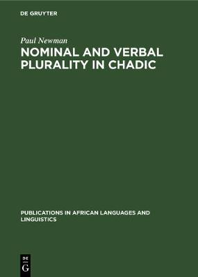 Nominal and Verbal Plurality in Chadic by Paul Newman