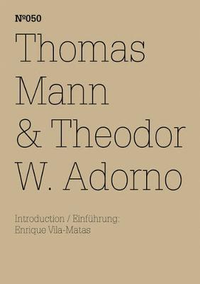 Thomas Mann & Theodor W. Adorno: Ein Austausch by Theodor W. Adorno