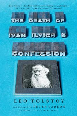 Death of Ivan Ilyich and Confession book