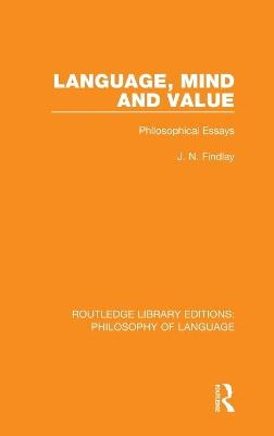 Language, Mind and Value book