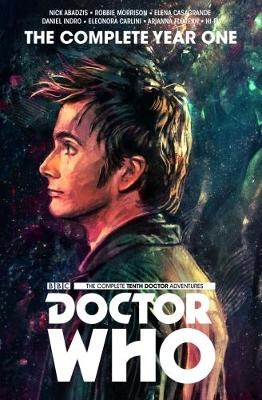 Doctor Who: The Tenth Doctor Complete Year One by Nick Abadzis