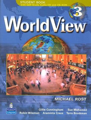 WorldView 3 with Self-Study Audio CD and CD-ROM Workbook 3B by Michael Rost