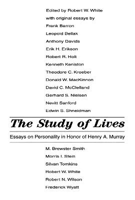 Study of Lives by Robert W. White