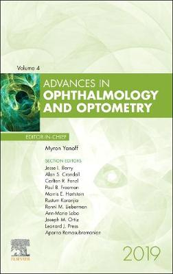 Advances in Ophthalmology and Optometry, 2019: Volume 4-1 book