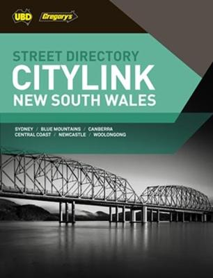 New South Wales CityLink Street Directory 27th ed by UBD Gregorys