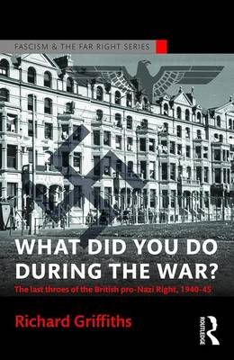 What Did You Do During the War? book