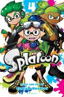 Splatoon, Vol. 4 by Sankichi Hinodeya